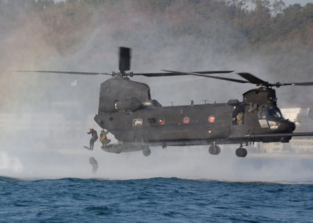 STS members conduct ops with Army helo unit